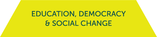 Icon for the Education, Democracy, and Social Change cluster