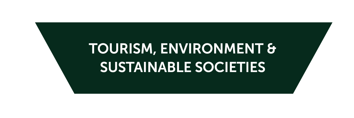 Icon for the Tourism, Environment, and Sustainable Development cluster